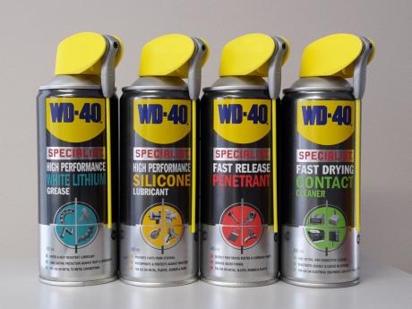 Uued tooted maailma populaarseima universaalmäärde WD-40 valmistajalt